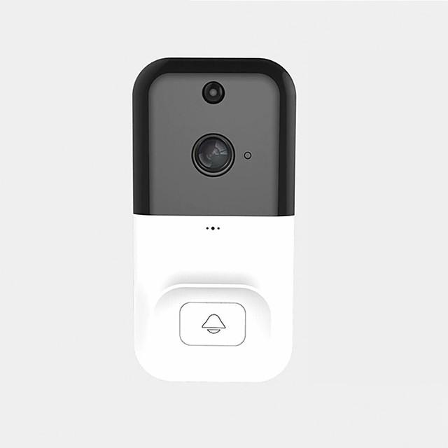 Wireless Smart WiFi DoorBell Camera Phone Video Door Visual Ring Door Bell Intercom with PIR Night Vision Home Security Camera