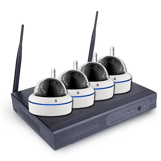 4-kanalni / 8-kanalni cctv sustav bežični 1080p h.265 nvr 2.0mp vanjski vodonepropusni wifi sustav sigurnosnih kamera komplet za nadzor noćnog vida