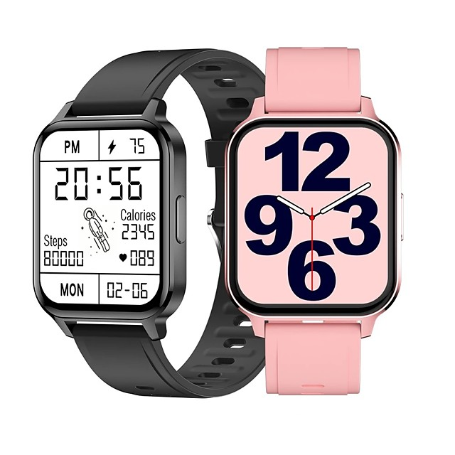 Q18 Смарт Часы Bluetooth Таймер Секундомер Педометр Водонепроницаемый Сенсорный экран Израсходовано калорий Корпус часов 36,5 мм для Android iOS Мужчина женщина / Длительное время ожидания