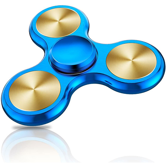 Fidget Spinner Toy, Bearing High Speed Precision Metal Material Hand Spinner, 4 to 10 min Spins, Ultra Durable Stainless Steel, Anxiety Stress Relief Boredom Killing Time Toys
