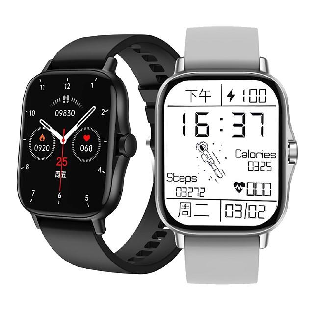 DW11 Intelligens Watch Bluetooth Alvás nyomkövető Vízálló Szívritmus monitorizálás Vérnyomásmérés IP 67 43 mm-es karóra mert Android iOS Férfi nő / Sportok / 200-250