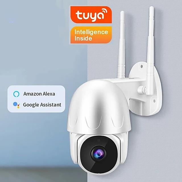 EN-T201W IP-kamera 1080P HD 1080P (1920 × 1080) PTZ WIFI Ulkona Tuki / CMOS