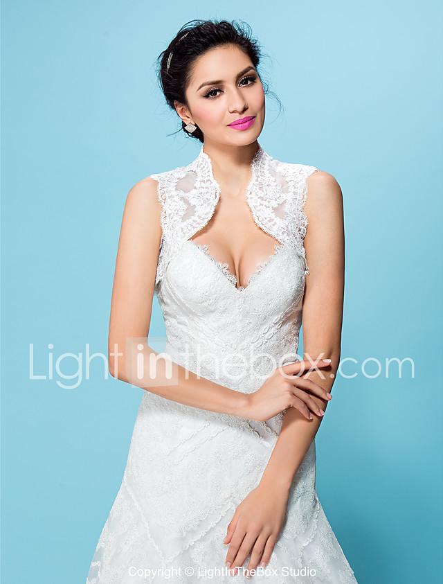 Lace Wedding / Party Evening Wedding Wraps With Shrugs ...