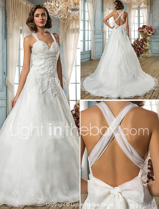 Lan Ting Bride A Line Princess Wedding Dress Classic