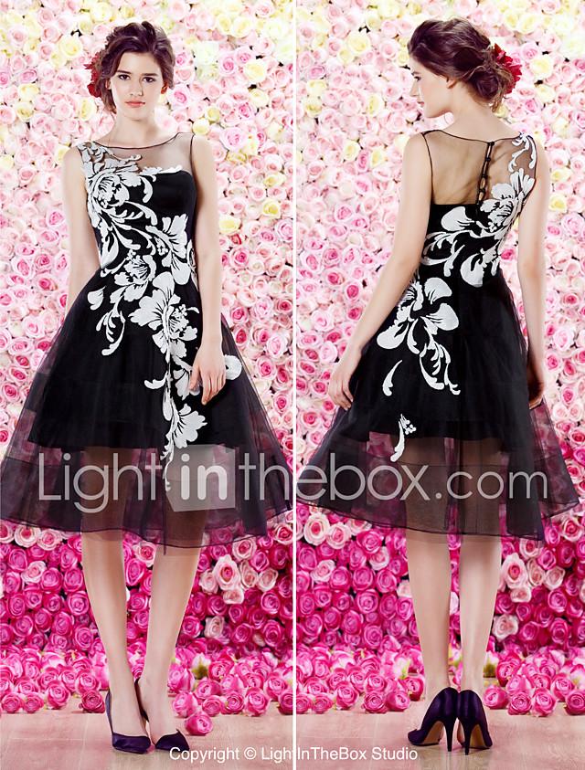 vestido de cóctel de alta costura homecoming ts - una línea primicia ...