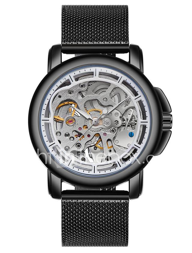 Timex tw2p механические часы бывают двух видов: с автоподзаводом и без него.