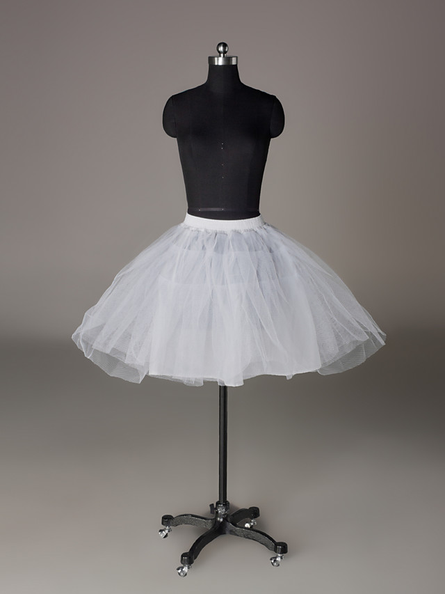 Wedding / Special Occasion / Party / Evening Slips Nylon / Tulle Short-Length A-Line Slip / Ball Gown Slip / Classic & Timeless with