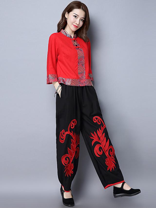 Mujer Clasico Holgado Pantalones Moda Primavera Verano 5658946 2021 18 69