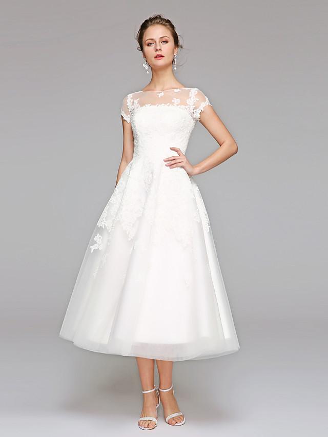 свадебные платья средней длины фото способен вызвать ожоги