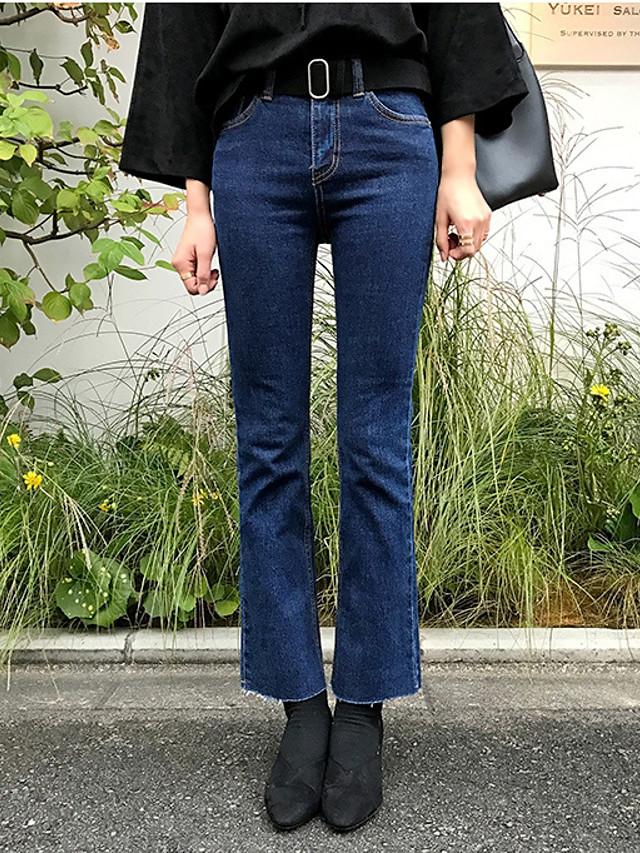 Surgen Nuevos Pantalones Casuales Simples Sueltos A Continuacion Luchar Pantimedias Jeans Rectos Femeninos Pantalones Acampanados Grandes 5657495 2021 14 29