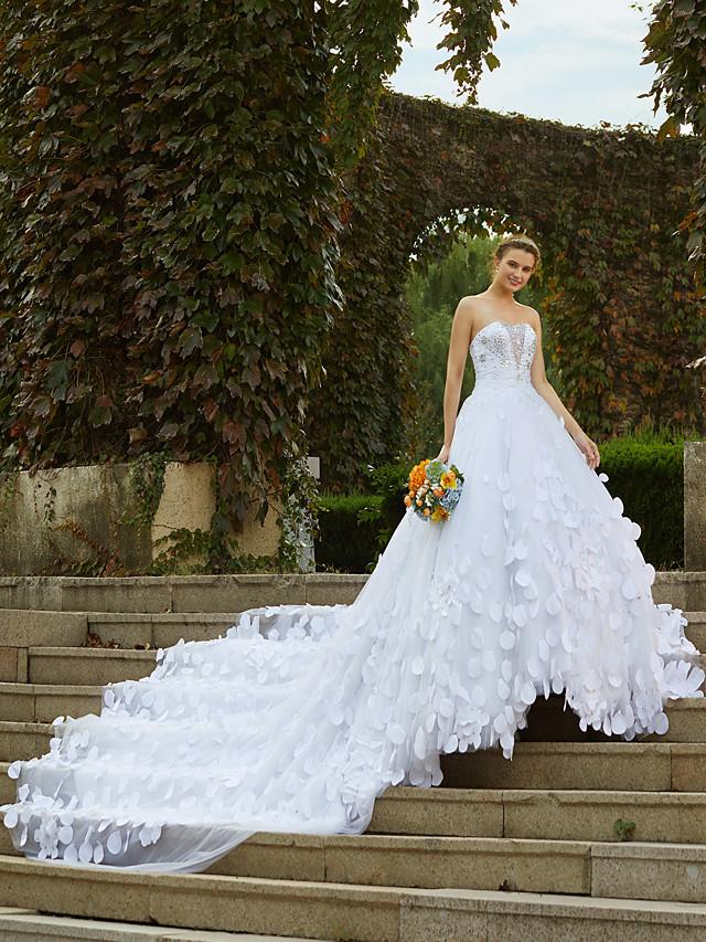 Robe de Soirée Robes de mariée Sans Bretelles