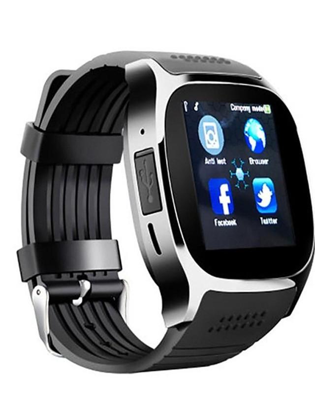 Муж. Спортивные часы электронные часы Цифровой На каждый день Календарь Цифровой Белый Черный Синий / силиконовый / Секундомер / ЖК экран / тахометр