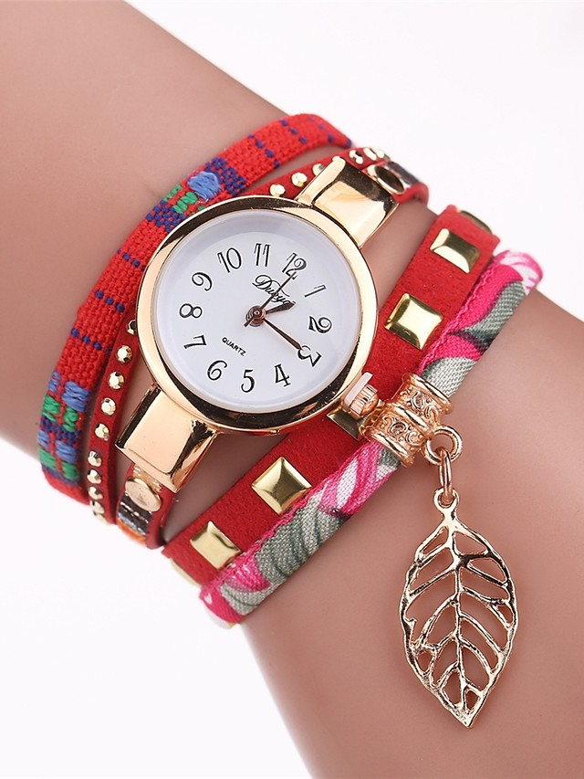 Women's Wrist Watch Quartz Black / White / Red New Design Casual Watch Analog Ladies Elegant Fashion - White Black Red One Year Battery Life