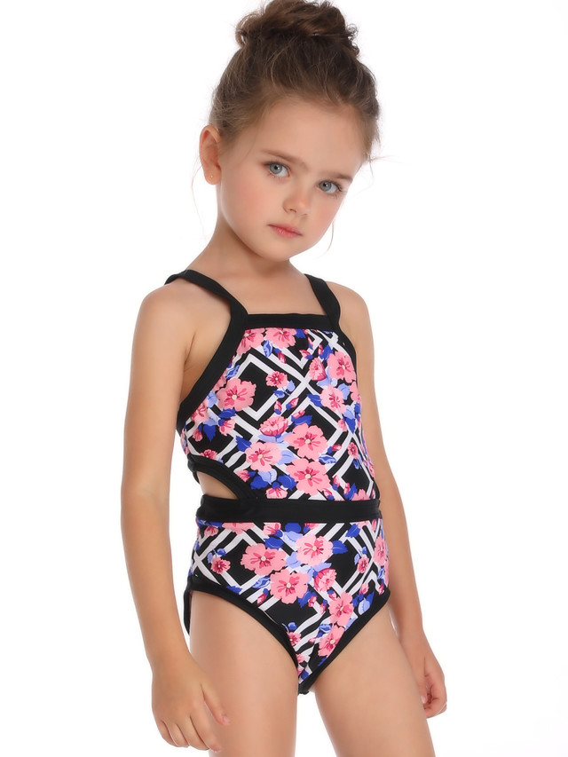 Girls Swimsuit one-Piece Childrens Swimsuit Girls Swimsuit Kids Swimsuit 3-8 Years Old Silver Sequins 3years A