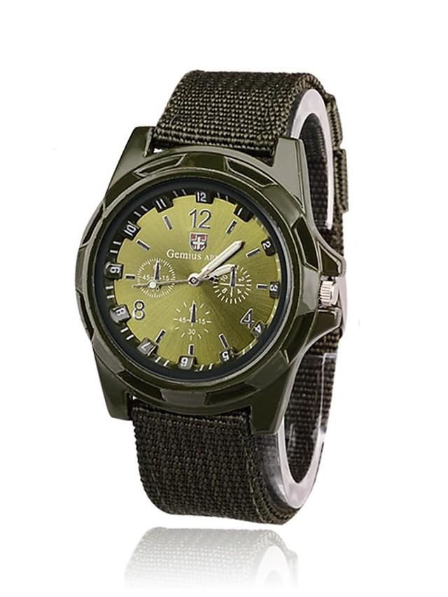 Men's Military Watch Wrist Watch Analog - Digital Quartz Fashion Casual Watch / One Year / Nylon