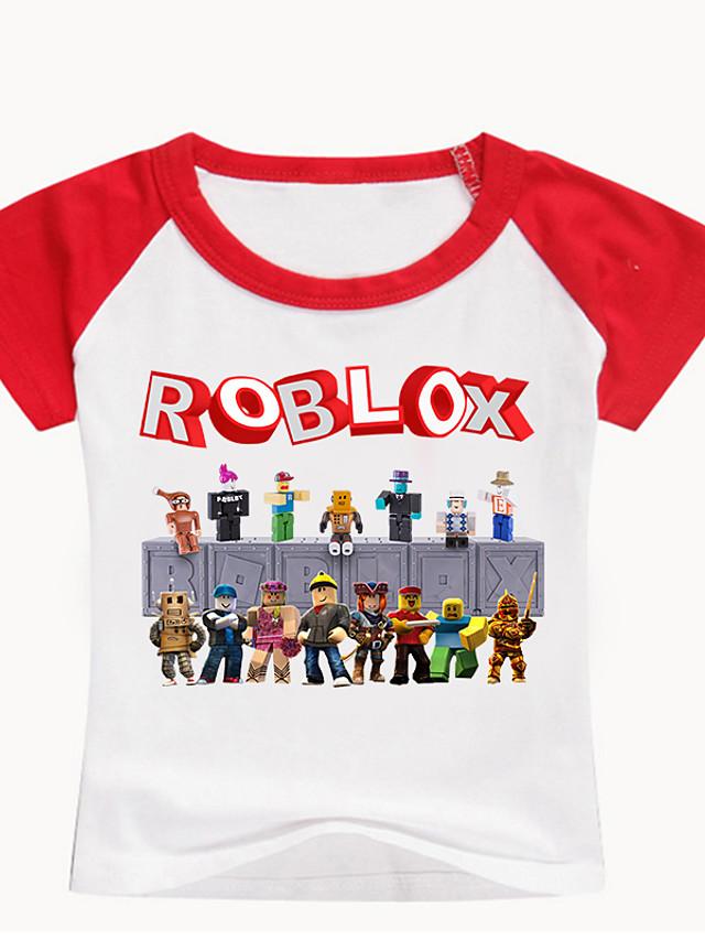 Ninos Bebe Chico Basico Estampado Estampado Manga Corta Camiseta