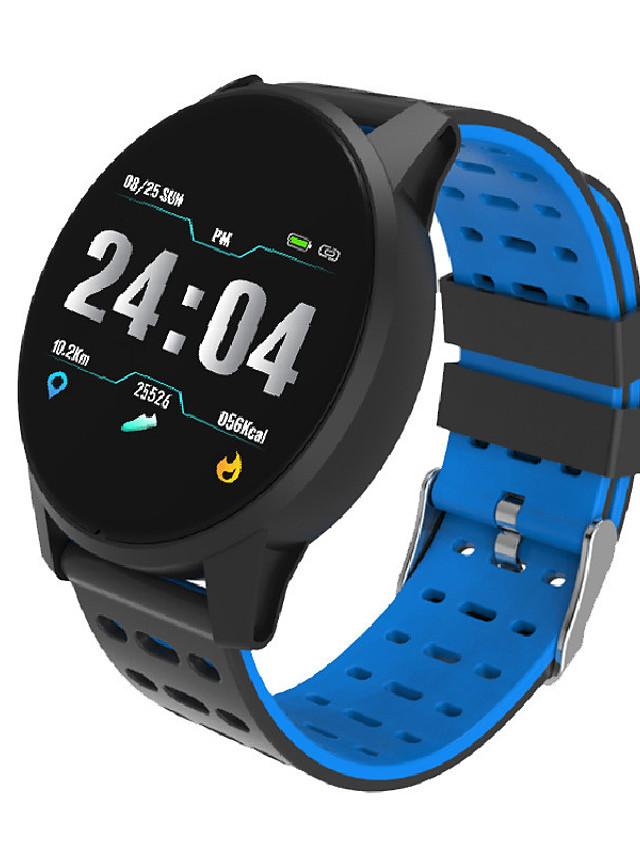 Men's Sport Watch Digital Digital Casual Water Resistant / Waterproof Bluetooth Smart / Silicone