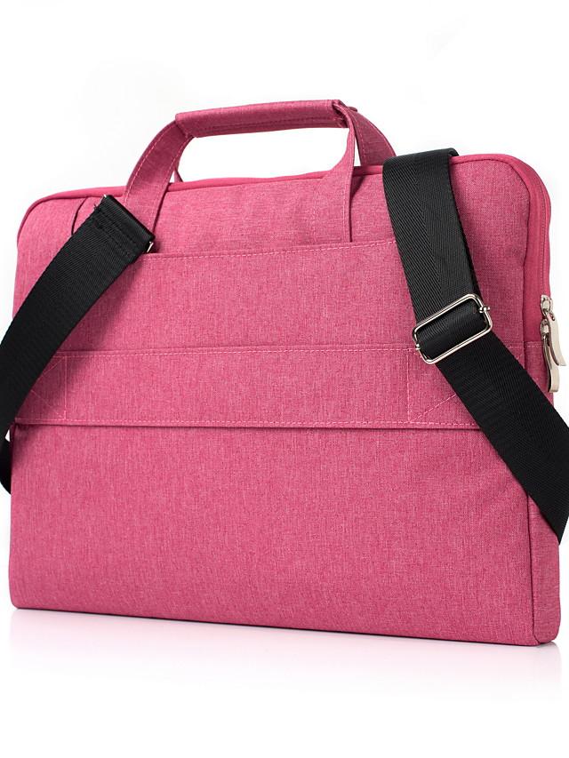 Notebook Handbag Shoulder Bag Multi-function Large Capacity For 11/12/13/15 Inch Laptop