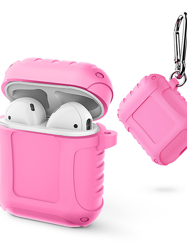 Case For AirPods Shockproof / Dustproof Headphone Case Soft