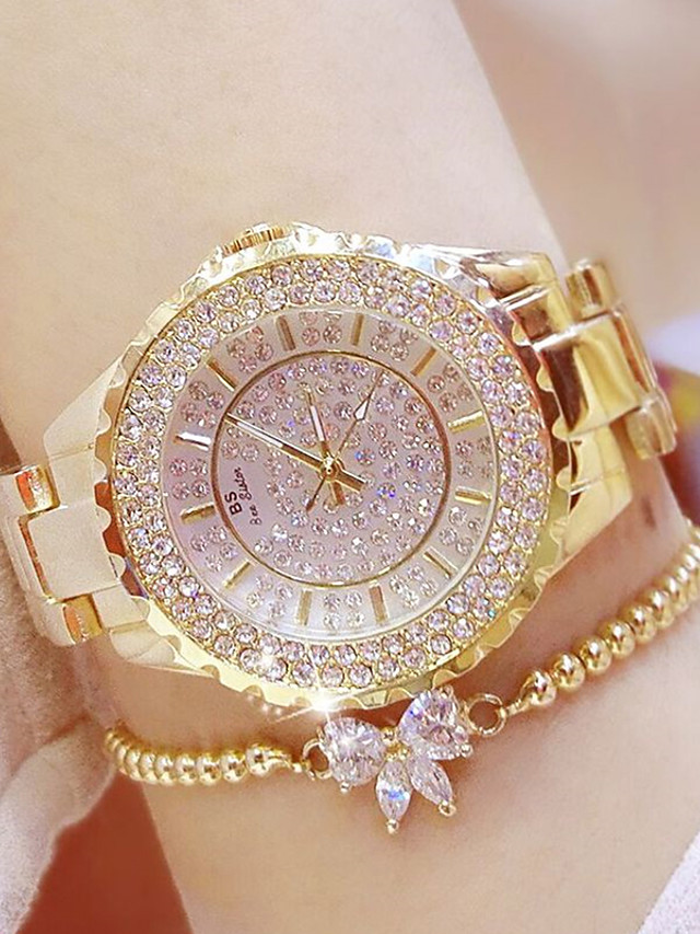 Women's Quartz Watches Quartz Stylish Casual Casual Watch Silver / Gold Analog - Gold Silver One Year Battery Life / SSUO 377