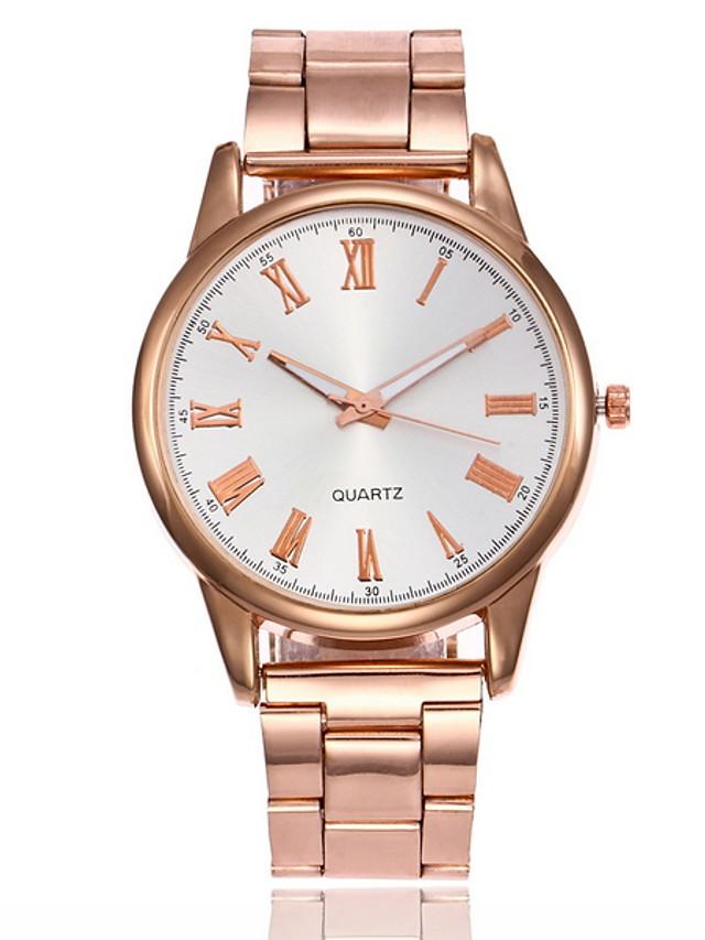 Women's Dress Watch Quartz Casual Watch Analog Classic - Gold Silver Rose