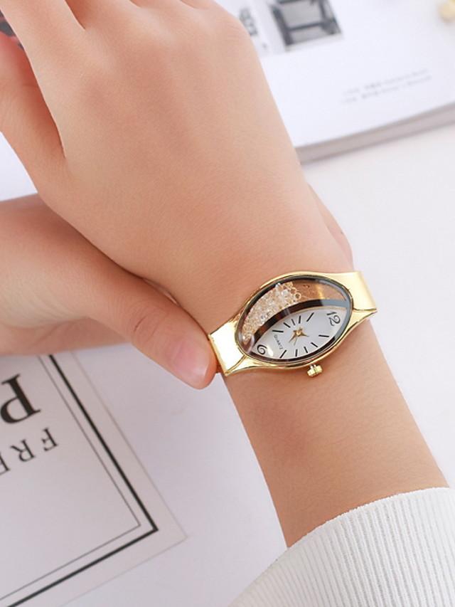 Women's Dress Watch Quartz Casual Watch Analog Classic - Black Gold Silver