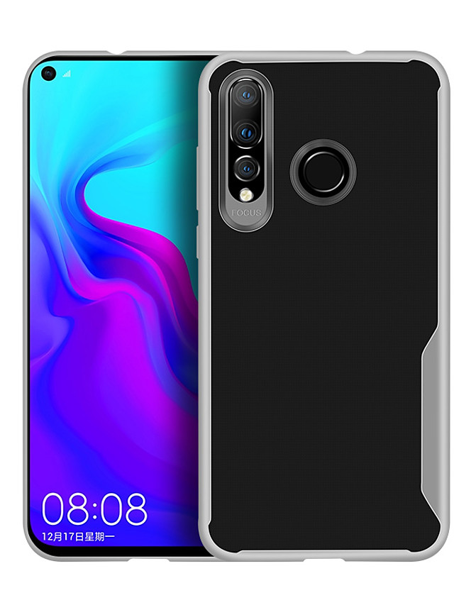 Case For Huawei Huawei Y6 Pro (2019) Shockproof / Ultra-thin / Transparent Back Cover Transparent Soft TPU / Silicone