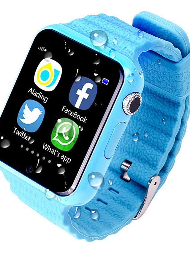 Smartwatch Digital Modern Style Sporty Silicone 30 m Water Resistant / Waterproof GPS Heart Rate Monitor Digital Casual Outdoor - Black Green Blue