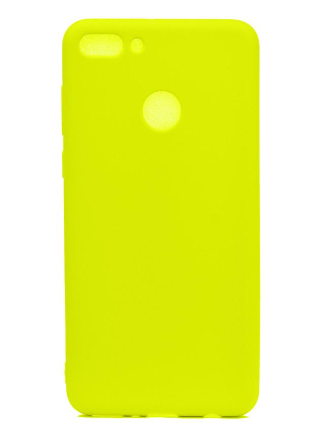 veske til huawei y9 2018 nydelig godteri farge matte tpu anti-skrape glidende beskyttelsesdeksel bakside