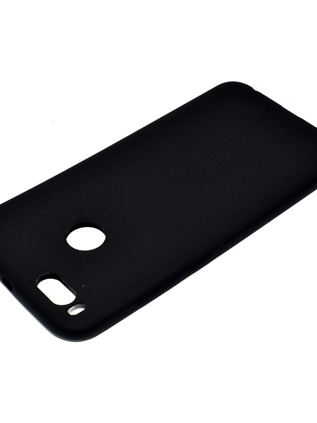 for XIAOMI 5X Lovely Candy Color Matte TPU Anti-scratch Non-slip Protective Cover Back Case