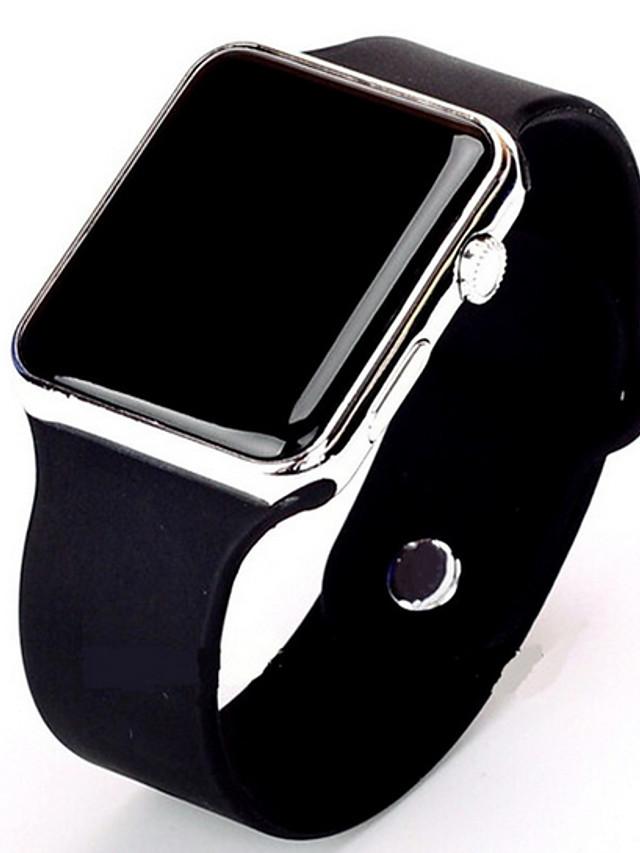 Men's Sport Watch Digital Watch Digital Digital Minimalist Casual Watch / Stainless Steel / Silicone