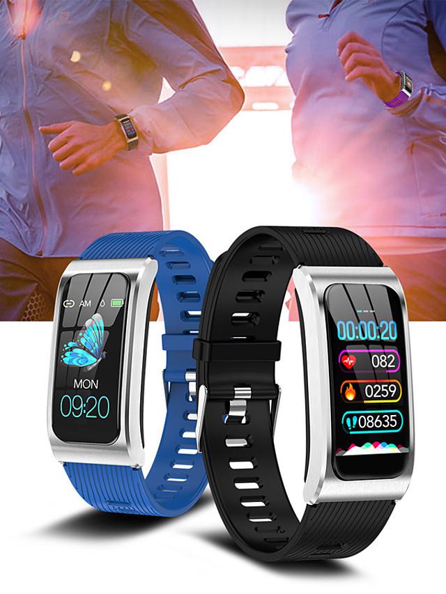 AK12 Women's Smartwatch Smart Bracelet Smartwatch Bluetooth Water Resistant / Waterproof Heart Rate Monitor Blood Pressure Measurement Bluetooth Smart ECG+PPG Stopwatch Heart Rate Monitor Sedentary