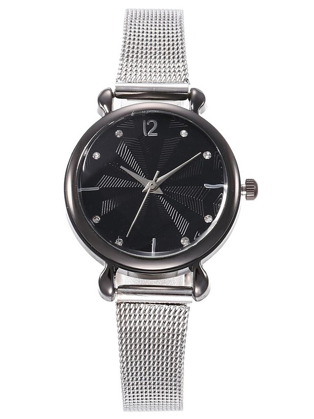 Women's Quartz Watches Quartz Stylish Fashion Casual Watch Silver Analog - Rose Gold Black Gold One Year Battery Life / Jinli 377