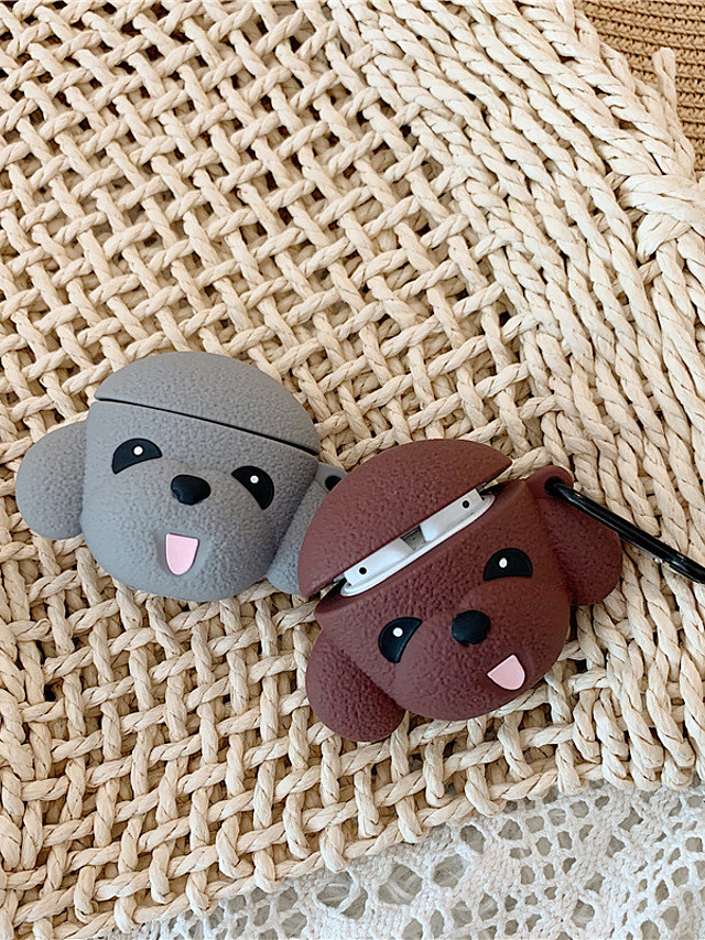 Case For AirPods Cute / Dustproof / Cool Headphone Case Soft