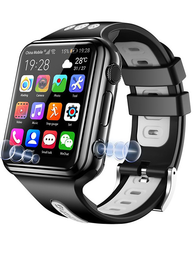 W5 Unisex Smartwatch Bluetooth 4G Water Resistant / Waterproof GPS WiFi Video Call Reminder Community Share