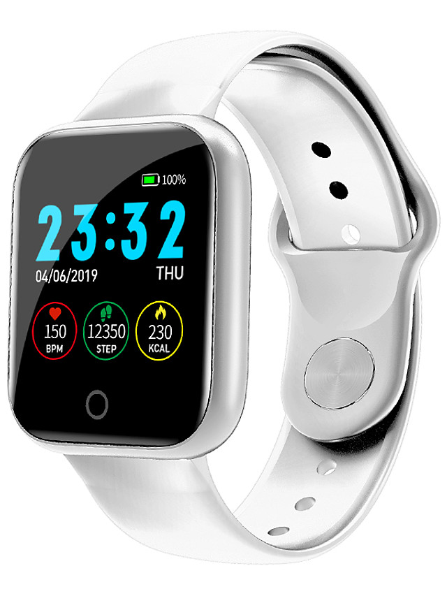 Z60 Unisex Smartwatch Bluetooth Waterproof Touch Screen Heart Rate Monitor Sports Exercise Record Stopwatch Pedometer Calendar
