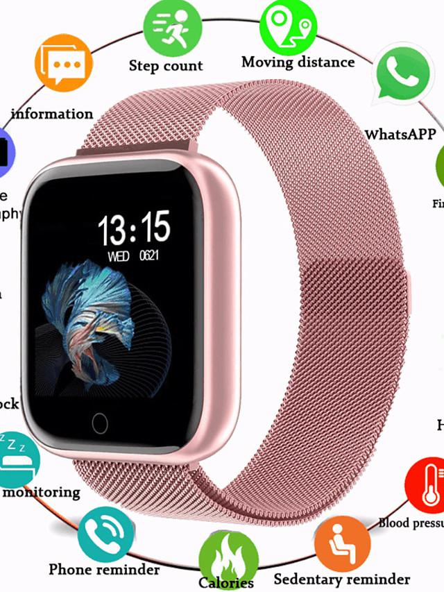 Intelligente Guarda Digitale Digitale Lusso Resistente all'acqua Monitoraggio frequenza cardiaca Bluetooth / Silicone