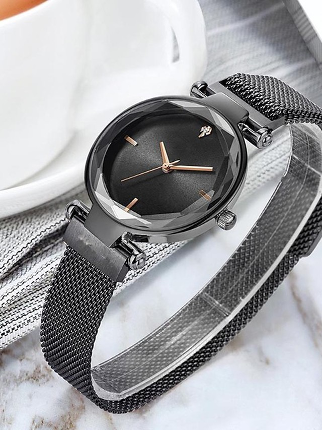 Women's Quartz Watches Fashion Blue Silver Alloy Chinese Quartz Rose Gold Purple Gold Adorable 1 pc Analog One Year Battery Life
