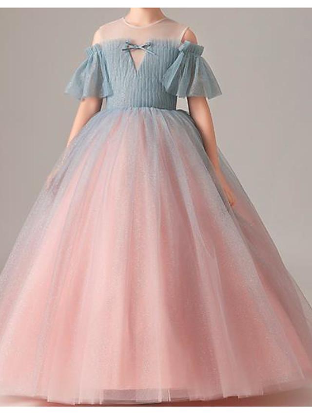 Kids Girls' Color Block Dress Blushing Pink