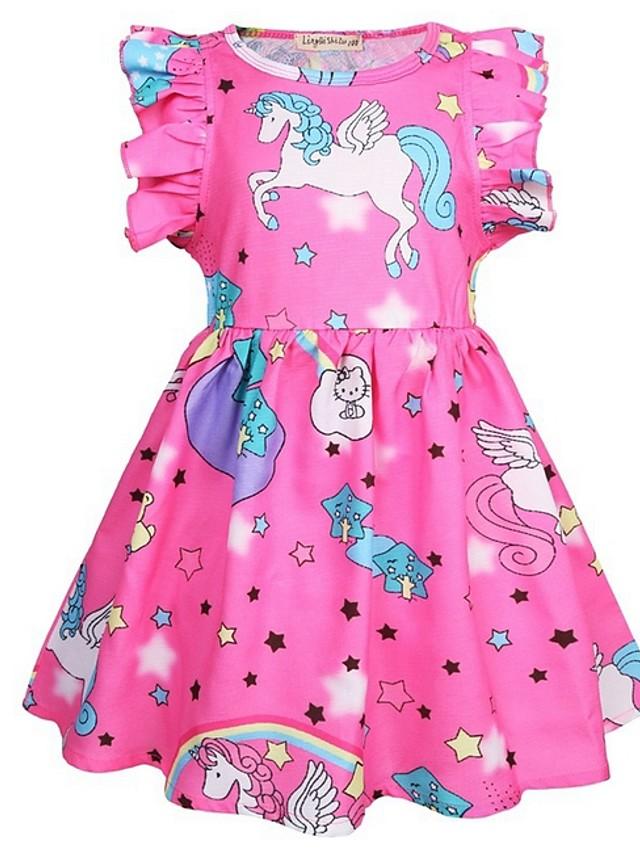 Kids Girls' Animal Dress Blushing Pink