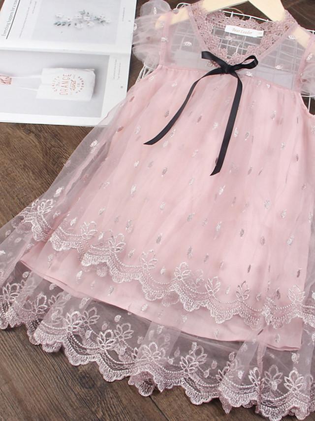 Kids Girls' Polka Dot Dress Blushing Pink