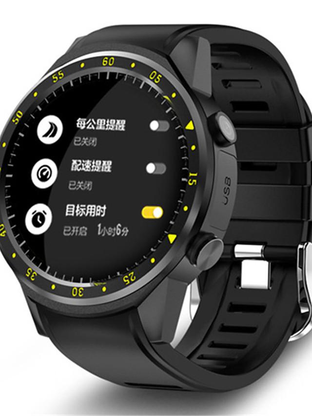 KING-WEAR F1 Men's Smartwatch Bluetooth Waterproof GPS Heart Rate Monitor Blood Pressure Measurement Camera Timer Pedometer Call Reminder Activity Tracker Sleep Tracker