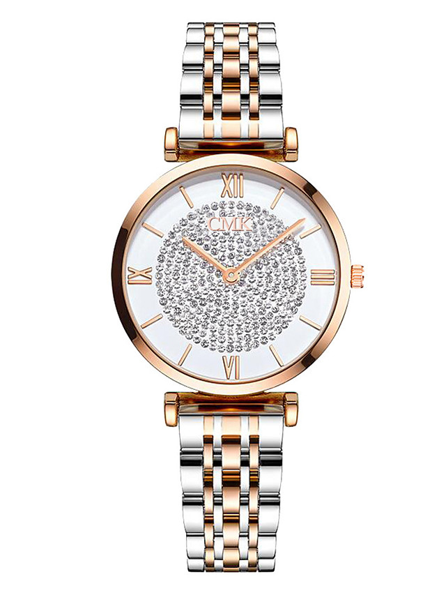 Women's Quartz Watches Fashion Silver Alloy Chinese Quartz Gold Silver Adorable 1 pc Analog One Year Battery Life