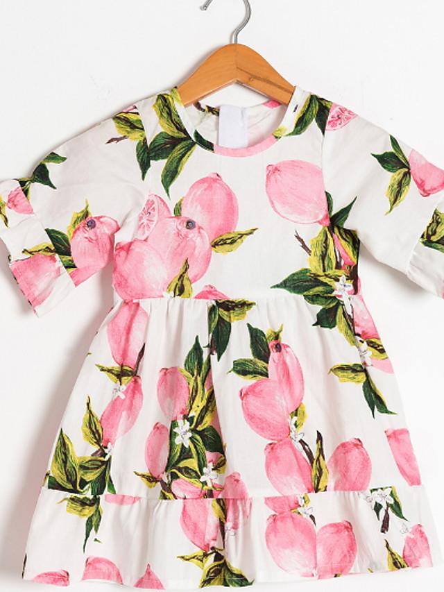 Kids Girls' Plants Dress Blushing Pink