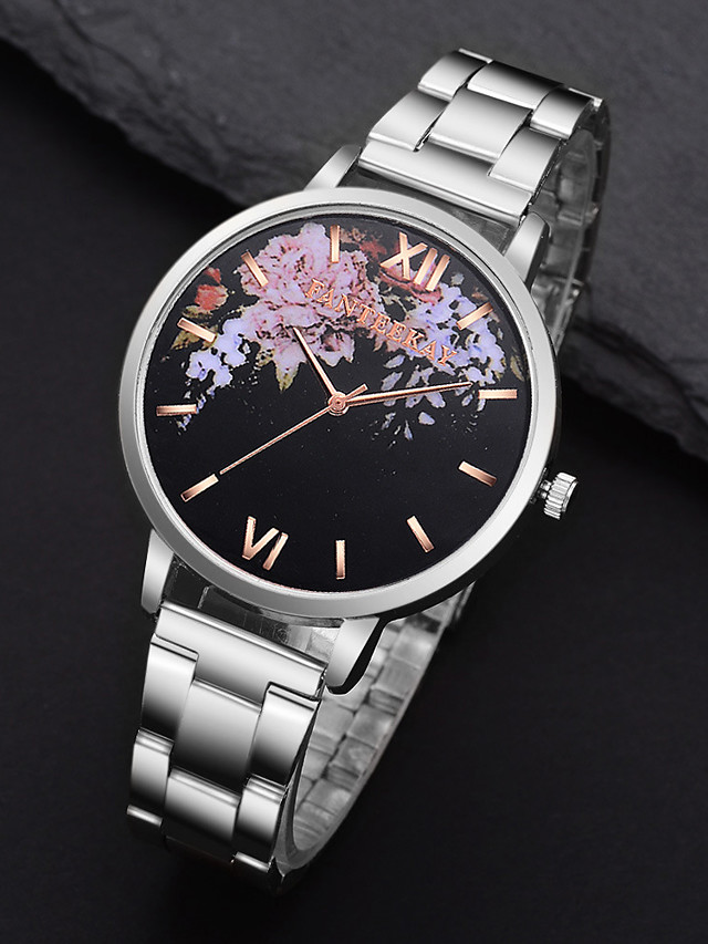 Women's Quartz Watches Fashion Silver Rose Gold Alloy Chinese Quartz Rose Gold Silver Adorable 1 pc Analog One Year Battery Life