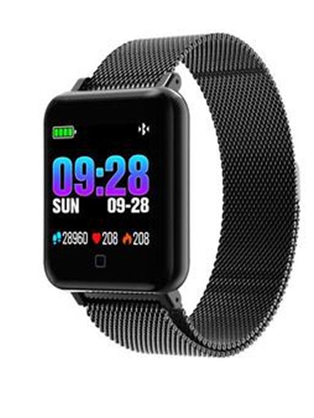 M19 Unisex Smart Wristbands Android iOS Bluetooth Waterproof Touch Screen Sports Long Standby Anti-lost ECG+PPG Pedometer Call Reminder Activity Tracker Sleep Tracker