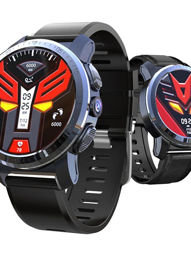 KOSPET Optimus pro Unisex Smartwatch Android iOS Bluetooth Waterproof Heart Rate Monitor Blood Pressure Measurement Calories Burned ECG+PPG Timer Pedometer Sleep Tracker Sedentary Reminder