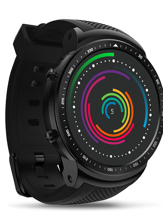 Zeblaze THOR PRO Unisex Smartwatch Android iOS Bluetooth Waterproof Heart Rate Monitor Blood Pressure Measurement Calories Burned Health Care ECG+PPG Timer Pedometer Temperature Display