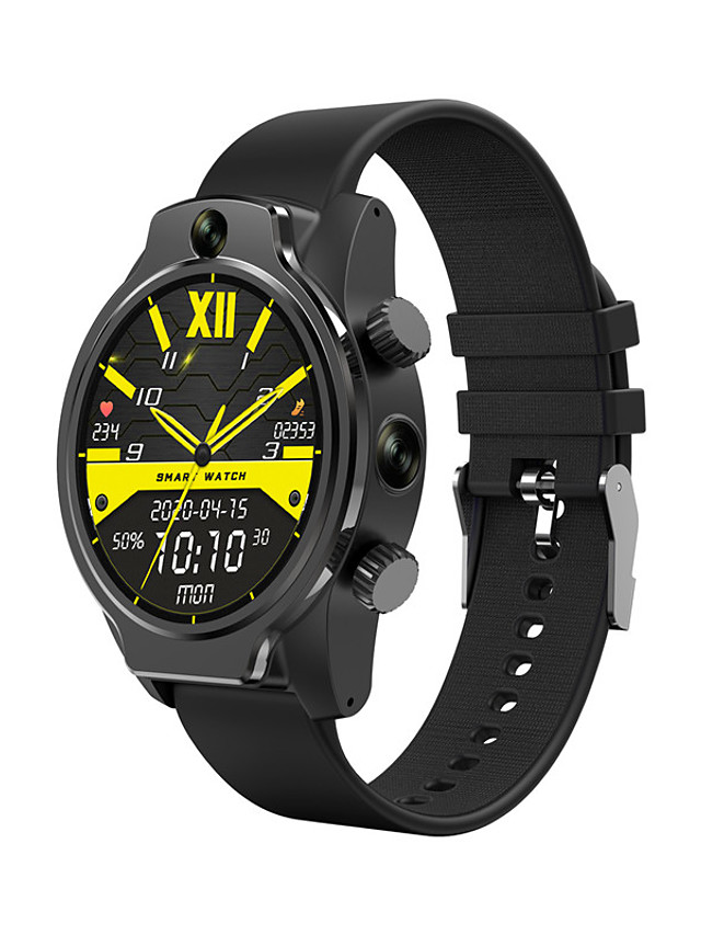Zeblaze S08 Unisex Smartwatch Android iOS Bluetooth Waterproof Heart Rate Monitor Video Health Care Message Control Timer Pedometer Sedentary Reminder Alarm Clock Calendar