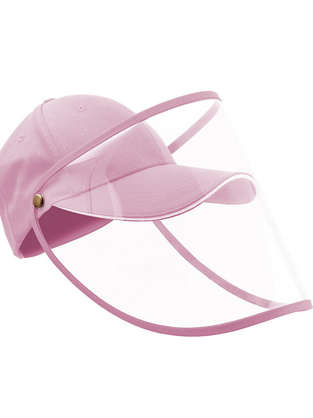Women's Basic Polyester Full-face Protective Hat /Summer Outdoor Gardening / Foldable / Beach / Sunscreen Sun Hat Big Brim Baseball Cap